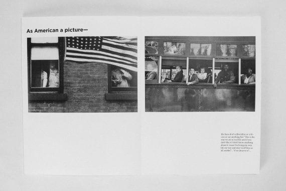 Robert Frank — You Got Eyes Publication Spread