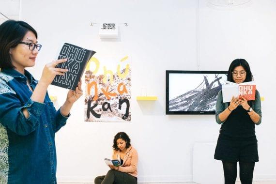 Ohúŋkakaŋ exhibition - MICA Grad Show 2017