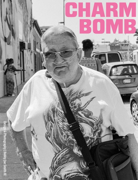Charm Bomb zine front cover