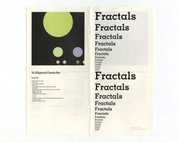 Fractals Publication Cover