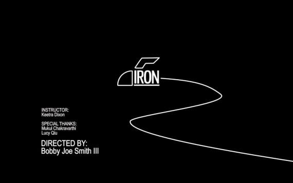Iron Video Title Screen