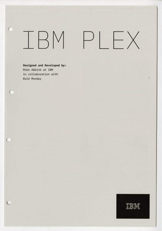 Is This Lissitz Publication Spread -- IBM Plex