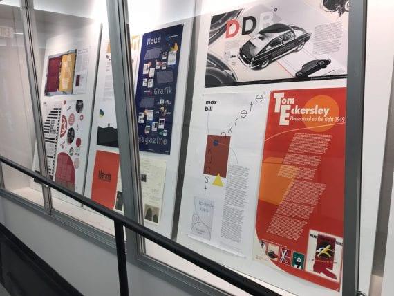 Konkrete Kunst Poster Exhibit Installation