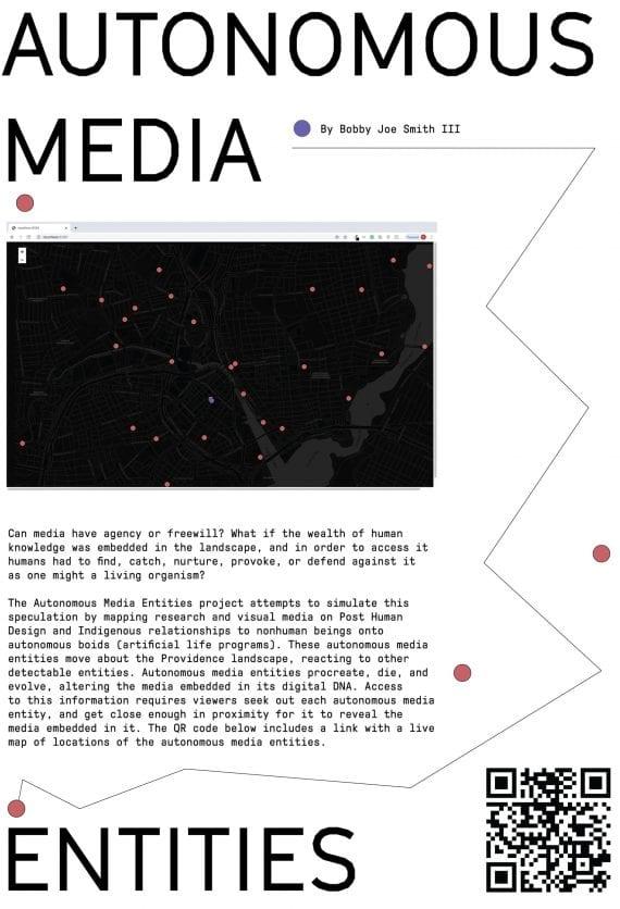 Autonomous Media Entities Poster