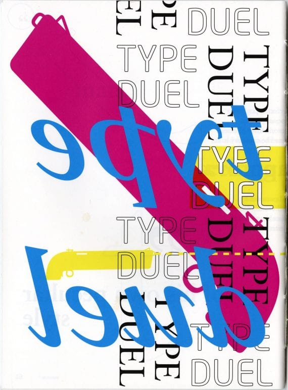 Type Duel Publication Cover