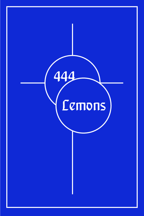 444Lemons Front Book Cover